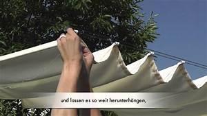 Sonnensegel Aufrollbar Selber Machen : sonnensegel bedienseil montieren raumtextilienshop youtube ~ A.2002-acura-tl-radio.info Haus und Dekorationen