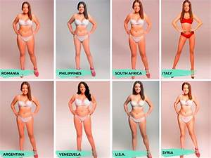 Want To Know What The Ideal Body Shape In 18 Countries Is
