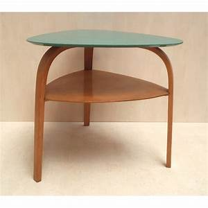 table tripode annees 50 8 table basse tripode vintage With table tripode annees 50