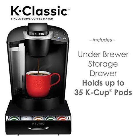 | 12 reasons you should buy the ninja. Amazon.com: Keurig K-Classic Coffee Maker K-Cup Pod, Single Serve, Programmable Black: Kitchen ...
