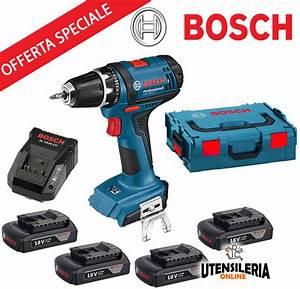 Bosch Gsr 18 2 Li : trapano a batteria gsr 18 2 li bosch 4 batterie ~ Dailycaller-alerts.com Idées de Décoration