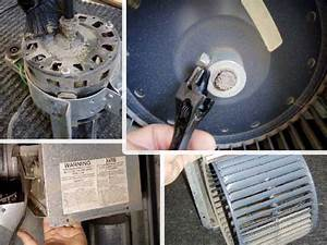Cleaning The Blower Assembly Of A Furnace
