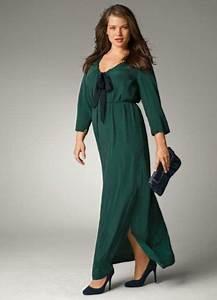 Robe Pour Femme Ronde : robe longue pour femme ronde rondes pinterest ~ Nature-et-papiers.com Idées de Décoration