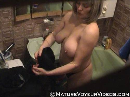 Beautydaddymasturbation Booty Shower Old Hidden #Bathroom #Voyeur #Video #Of #A #Boobiferous #Lady