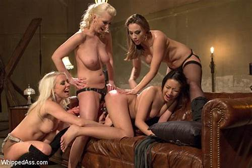 Gotporn Lez Four Gangbang #Blondes #And #Friend #Tie #Up #Chick #Dominate #A