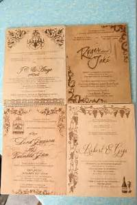 wood engraved invitation for prices and inquiries With average cost of engraved wedding invitations