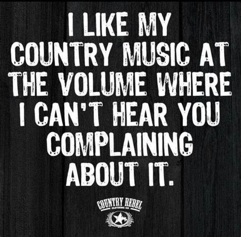 Best funny music quotes selected by thousands of our users! Country music humor #country #music #humor & country-musik ...