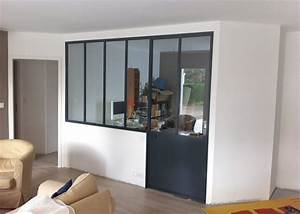 formidable separation vitree entre cuisine et salon 3 With separation vitree entre cuisine et salon