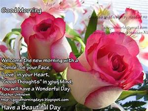 Good Morning Days: Good Morning Tuesday.. Inspiring ...