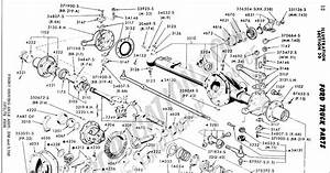 31 Ford F250 Rear Axle Diagram