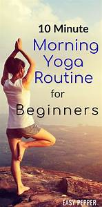Check Out This 10 Minute Morning Yoga Routine For