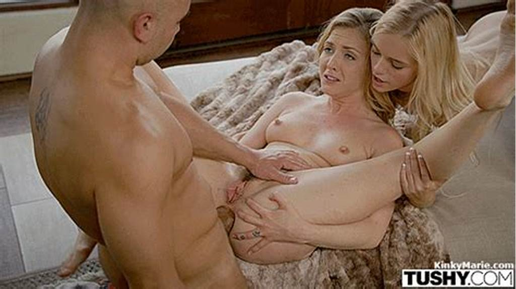 #Gorgeous #Blonde #Teens #Assfucked #In #A #Threesome