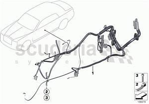 Rolls Royce Phantom Coupe Door Cable Harness Parts