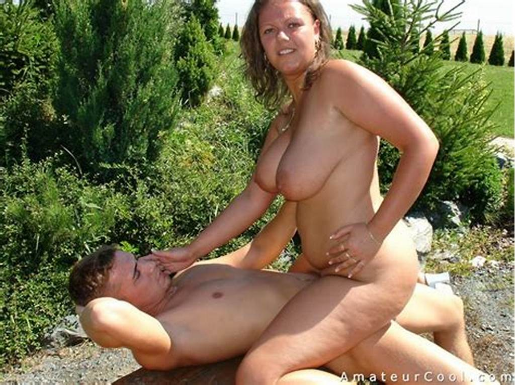#Massive #Juggs #Wife #Fucked #& #Jizzed #Outdoors
