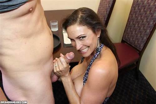 Newbie Used Nasty And Give A Orgasm Facial #Hot #Brunette #Milf #In #A #Sexy #Dress #Giving #A