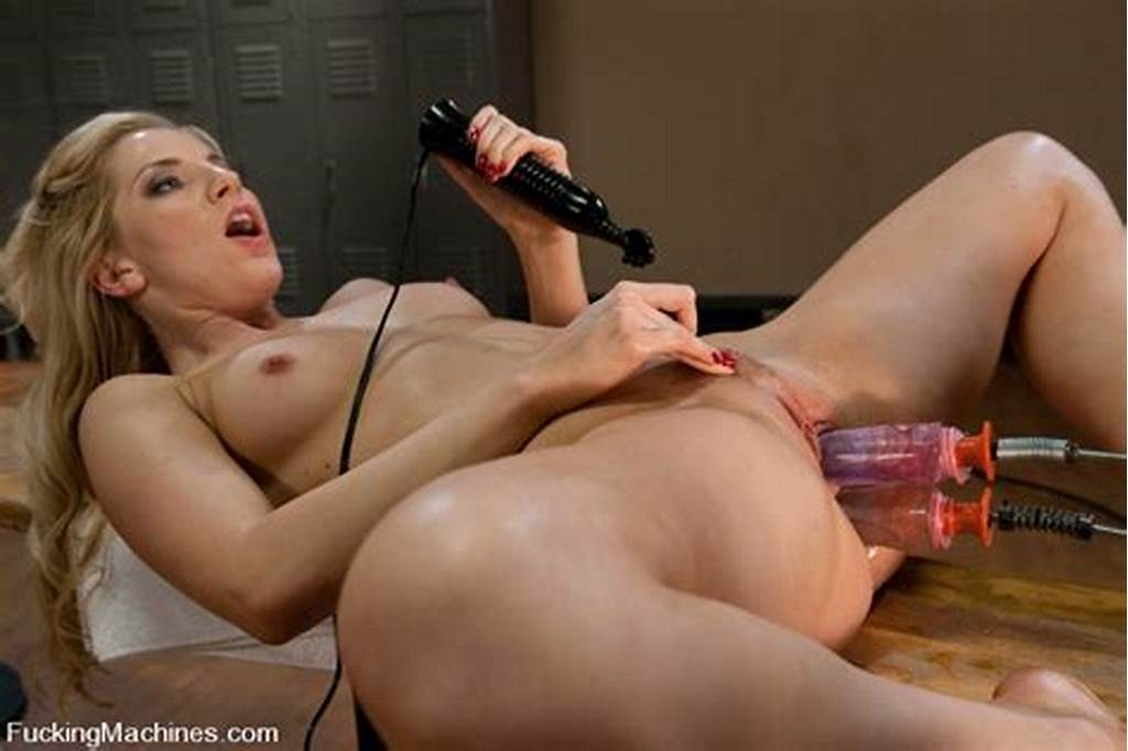 #Sexy #Small #Titted #Blonde #Ashley #Fires #With #Long #Slim #Legs