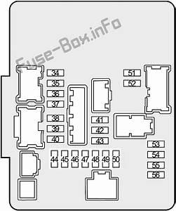 Fuse Box Diagram Nissan Altima  L33  2013
