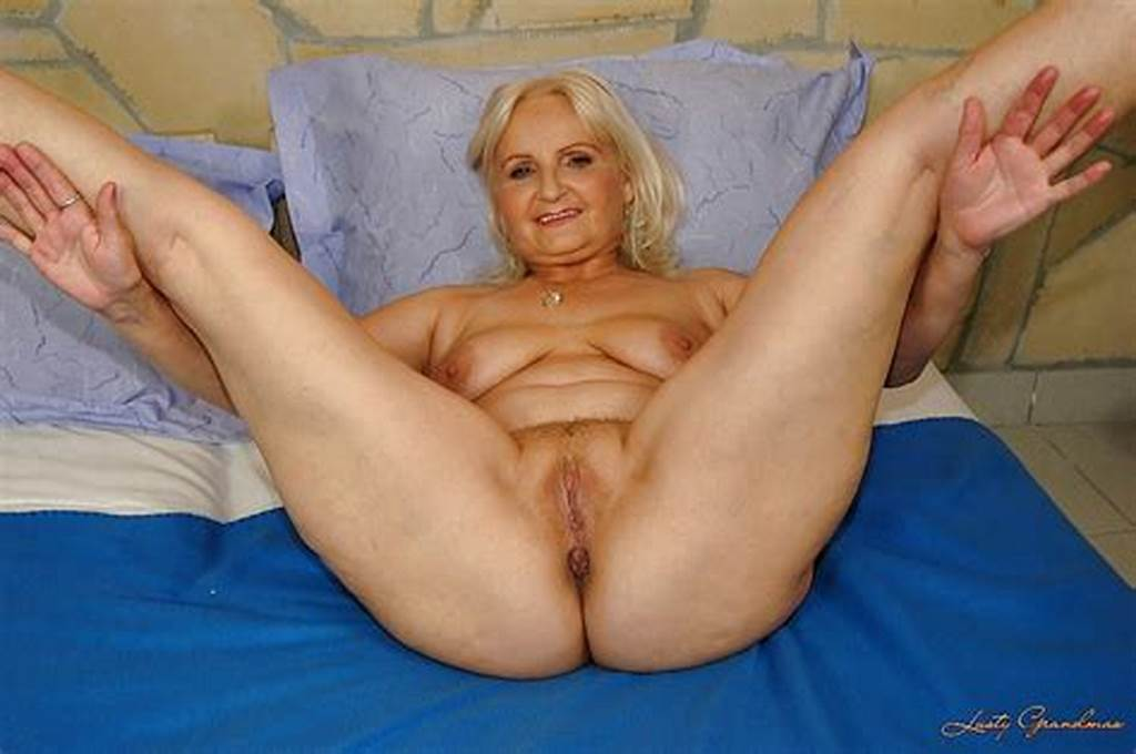#Hot #Blonde #Granny #Marianne #Spreading #Bare #Legs #And #Pussy