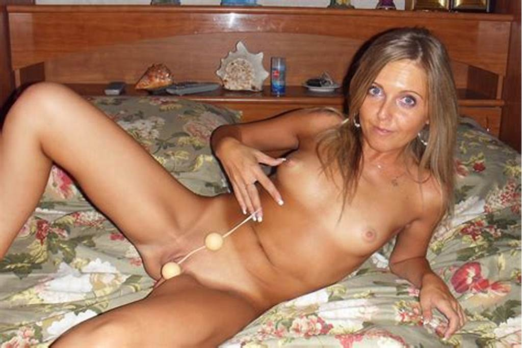 #Middle #Age #Woman #Shows #Her #Young #Body #And #Plays #With #Small