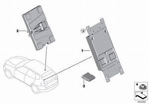 2015 Bmw X5 Xdrive35d F15  Telematics Control Unit