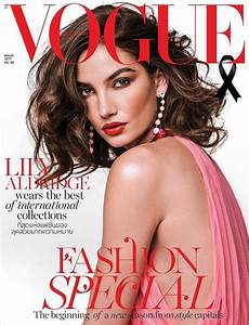 Lily Aldridge Covers Vogue Thailand March 2017 Issue