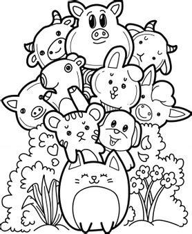 Colección de animales de granja Descargar Vectores gratis