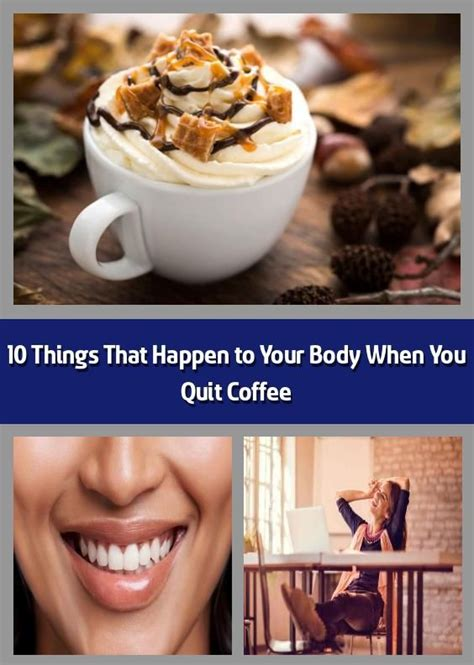 A morning coffee is an essential for many people looking to kick start their day. 10 Things That Happen to Your Body When You Quit Coffee - First of all, no one's saying you ...