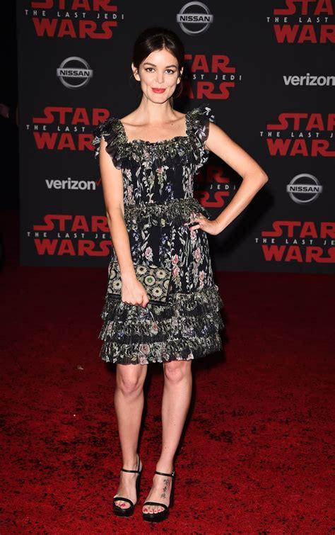 NORA ZEHETNER at Star Wars: The Last Jedi Premiere in Los Angeles 12/09/2017 - HawtCelebs