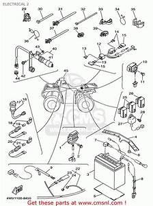 Yamaha Yfm600fwak 1998 4wv1 Usa Electrical 2