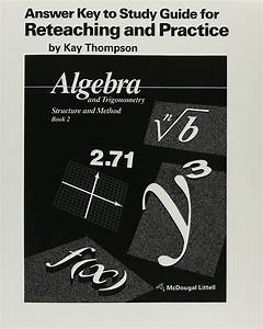 Study Guide Algebra Structure And Method Book 1 Answer Key Mauiargentinetango Com