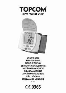 Bpm Wrist 2301 Manuals