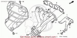 2002 Honda Civic Exhaust Diagram