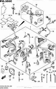 Suzuki Motorcycle 2015 Oem Parts Diagram For Wiring