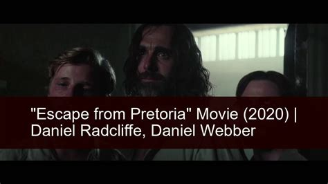 "It's a good movie, nothing expecial. MOVIES ""Escape from Pretoria"" Movie 2020. Trailer. Cast ..."