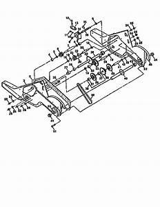 Craftsman Model 917293550 Rear Tine  Gas Tiller Genuine Parts