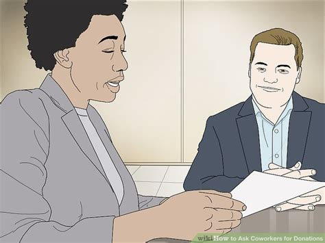 Some new websites offer parents creative ways to solicit donations for education expenses. How to Ask Coworkers for Donations (with Pictures) - wikiHow
