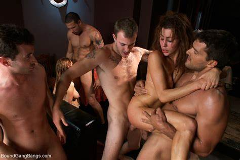 Perverted Twinks Have A Freaky Orgy In The Porn Dungeon