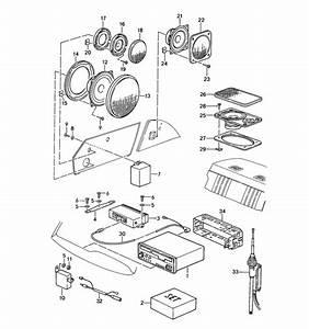 Radio Loudspeaker Installation Parts See Tpi Gr 9   Nr 7