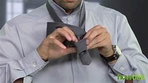 Comment Nouer Une Cravate : comment nouer une cravate youtube ~ Melissatoandfro.com Idées de Décoration