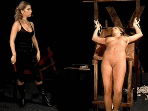 Gagged Angel Acquires Violent Whipping On Her Breasty