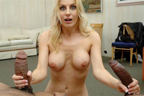 Blonde Kinky Princess Lick Bbc The Fine Birthday Present For A Meat