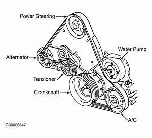 Grand Prix Serpentine Belt Diagram