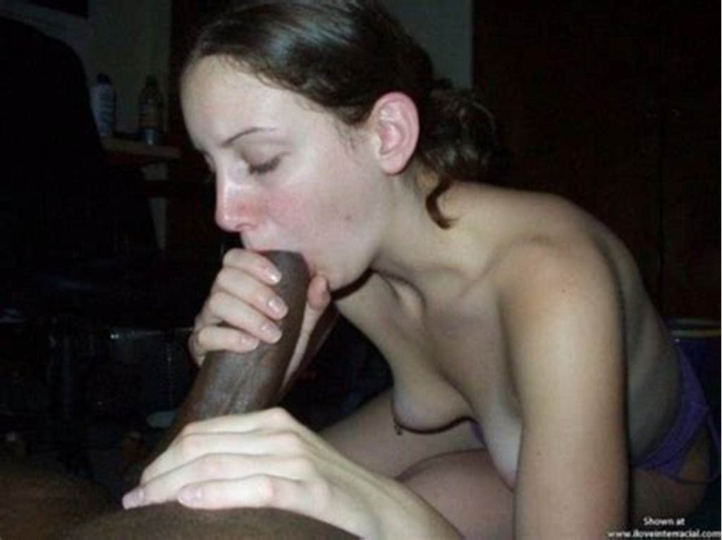 #Skinny #Whore #Sucks #Huge #Black #Cock #16274