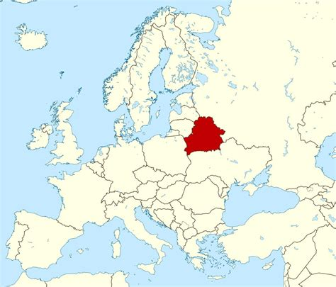 Baltkrievija par pasaules kartē - Baltkrievijas atrašanās ...