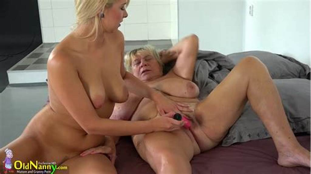 #Old #Granny #Big #Pussy #With #Young #Lesbian