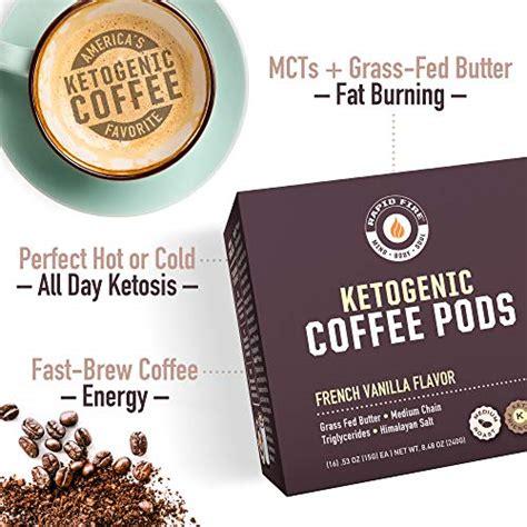12 rapid fire turbo creamer. Rapid Fire French Vanilla Ketogenic High Performance Keto Coffee Pods, Supports 35046107956 | eBay