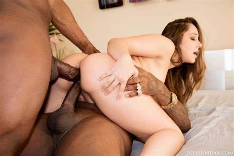 Caught Threesome Cock In Double Lace Remy Lacroix Retro One Stuffed