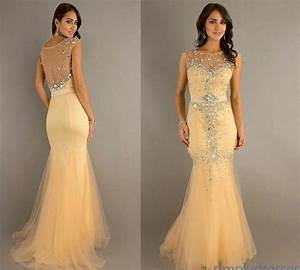 2014 formal mermaid beaded wedding evening dress formal With boutique de robe de soirée