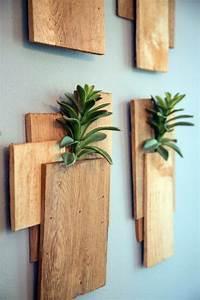 Dekoration Für Die Wand : aus holz bretter vasen f r die wand bauen deko pinterest vasen w nde und holz ~ Indierocktalk.com Haus und Dekorationen