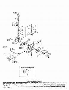 Delta Router  Shaper Parts